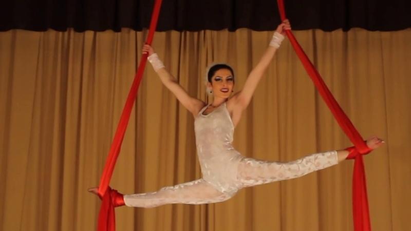Alex Spite - Remember Me [Original Mix] | Aerial Silk Solo Lianna Khachatryan