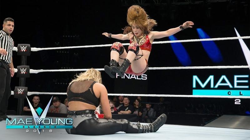 Io Shirai vs. Rhea Ripley - Semifinal Match: Mae Young Classic, Oct. 24, 2018
