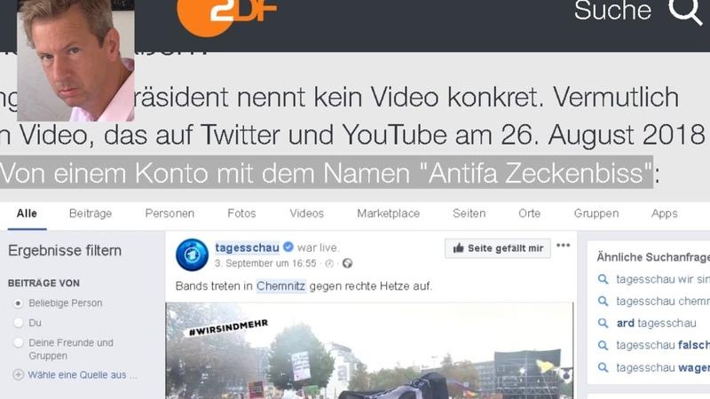 Petition gegen Antifa Terrorganisation ARD ZDF dankt wem als Infoquelle