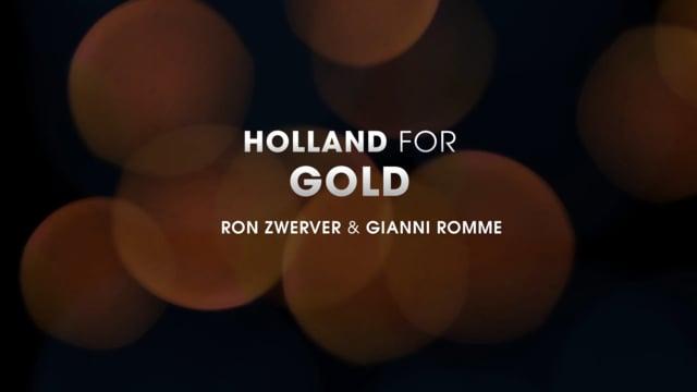 Holland Gaat Voor Goud Ep 1 Ron Zwerver Gianni Romme