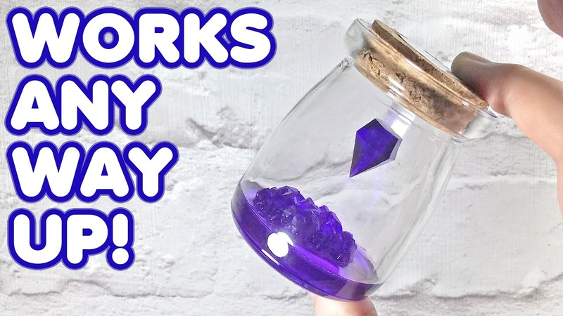 How to Make a Magical Levitating Crystal that SPINS DIY Epoxy Resin Project Tutorial