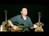 Finger Style Delta Blues Oscar Schmit P'MICO Collegiate Stella Parlour Guitar