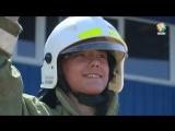 Лучшую дружину юных пожарных и спасателей выбрали на стадионе «Пламя».