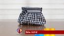 Bolsa de tecido Astrid. Compre o projeto com moldes, medidas e passo a passo no Maria Adna Ateliê