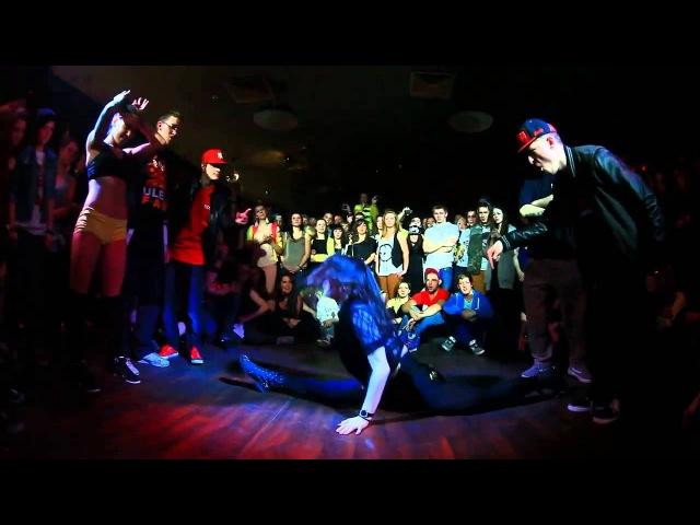 Trash Night Party by ULEY FAM Sexy R'n'B 1 2 DHQ Саша Пирогова VS Таня Мельник win