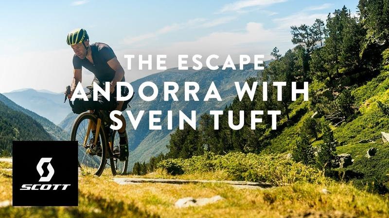 Riding Gravel Bikes with World Tour Pros - The Escape - Andorra with Svein Tuft