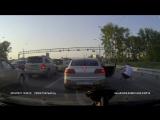 Новосибирск. Танцы в пробке. 11.06.2016 г