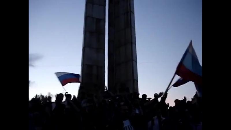 Сыктывкар после матча Россия Голландия ЧЕ 2008