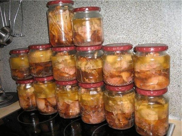 Тушенка из утки в домашних условиях на зиму не в духовке