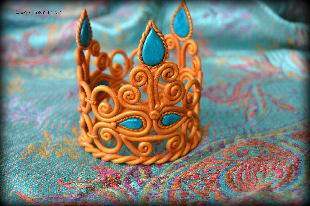 Как сделать «Корону» из мастики Мастер класс 4