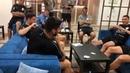 Jogada final do torneio de Truco da seleção uruguaia