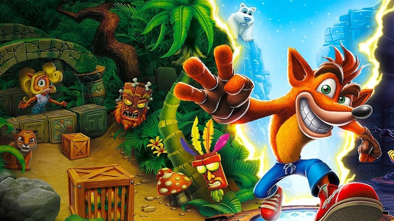 Прохождение Crash Bandicoot (Crash Bandicoot N. Sane Trilogy)