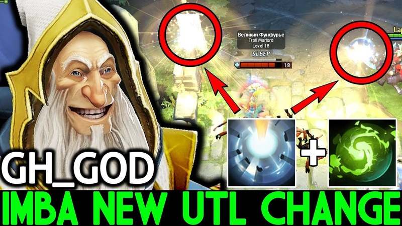 GH_GOD [Keeper of the Light] Imba New ULT Change WTF Crazy Gameplay 7.20 Dota 2