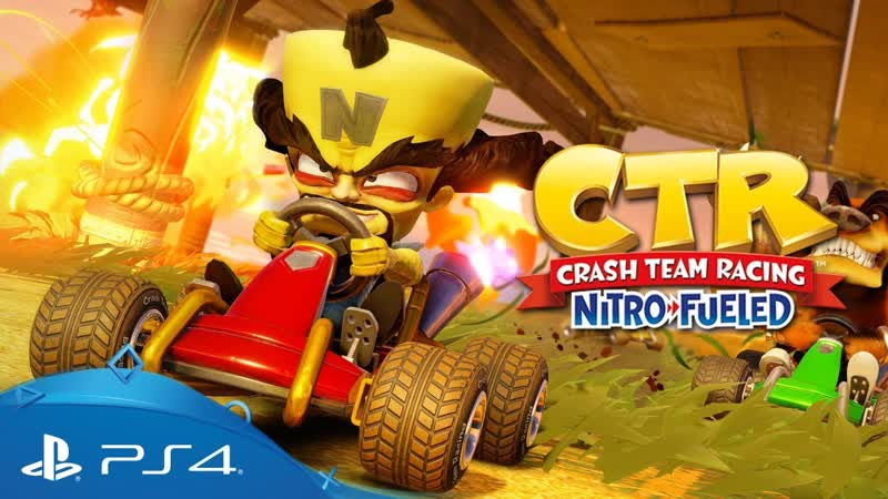 Crash Team Racing Nitro Fueled PS4 Exclusives CNK Content Reveal Trailer