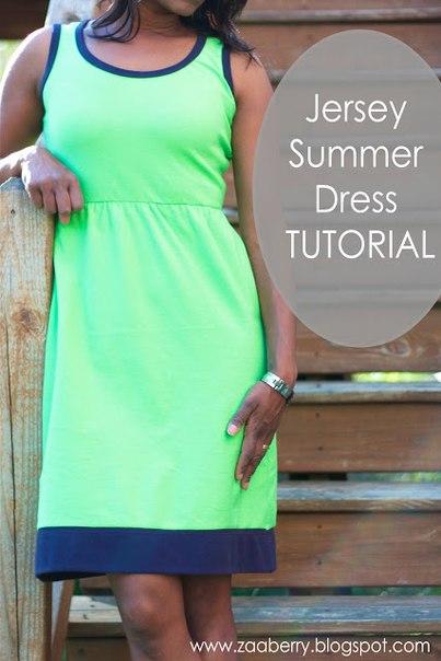 a88a6da13b013f2 шьем трикотажное платье сами - Самое интересное в блогах