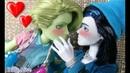 ПЕРВЫЙ ПОЦЕЛУЙ ♥ БИЛЛИ ГЕЙ Как влюбить в себя парня 3 серия Stop Motion Monster High
