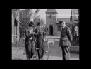 Charlie Chaplin and his Brother Riding a Penny Farthing Behind the Scenes Archival Footage