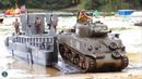 RC Boat LCM3 Landing craft completely 3D printed Sherman RC tank