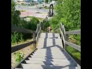 Виталий Немчинов, забег по летснице