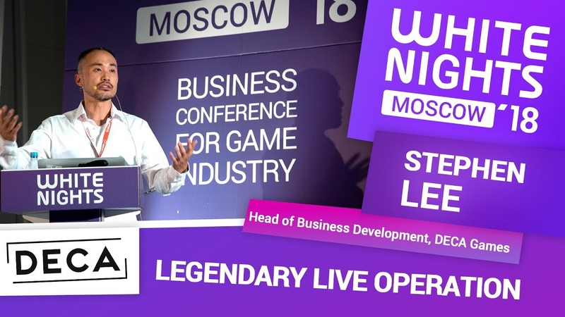 Stephen Lee (DECA Games) - Legendary Live Operations
