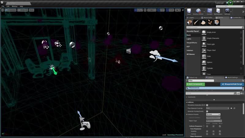 [Unreal Engine Rus] Основы Unreal Engine 4 - Интерфейс Viewportа