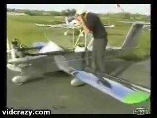 Один из самых маленьких самолетов Коломбан Кри Кри