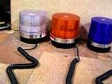 Проблесковый маячок ,стробоскоп, (мигалка) - оранжевый