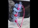 Flores de Garrafa pet para uma tiara- (RECICLAGEM)