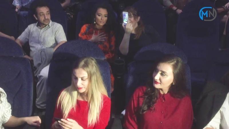 CinemaPlusda Qış nagili filmində rol almış türk məşhurlarının görüşü.(Halil Sezai Müge Boz)