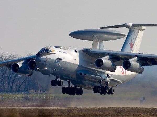 В Таганроге модернизированный самолет-разведчик А-50У передали ВВС России