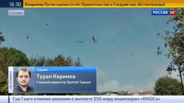 Новости на Россия 24 • Главреда Sputnik-Турция Керимова лишили аккредитации и права на въезд в страну