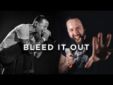 LINKIN PARK - Bleed it Out ~ (METALCORE COVER) Jonathan Young &amp Travis Carte