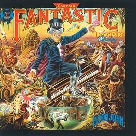 Elton John альбом Captain Fantastic