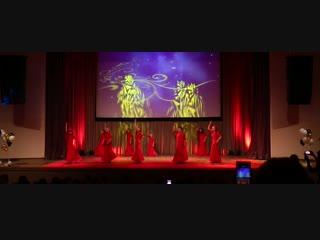 MAXDANCE   Начинающая группа Belly Dance - Принцессы востока   WINTER CONCERT 2018