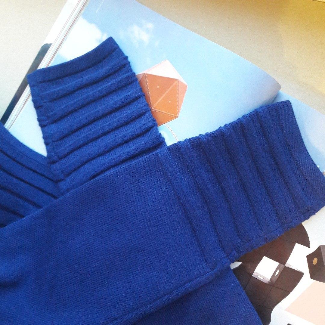 Очень теплое и качественное платье-свитер которую я рекомендую