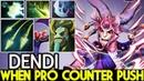 Dendi Medusa When Pro Player Counter Push Strat 7 20 Dota 2