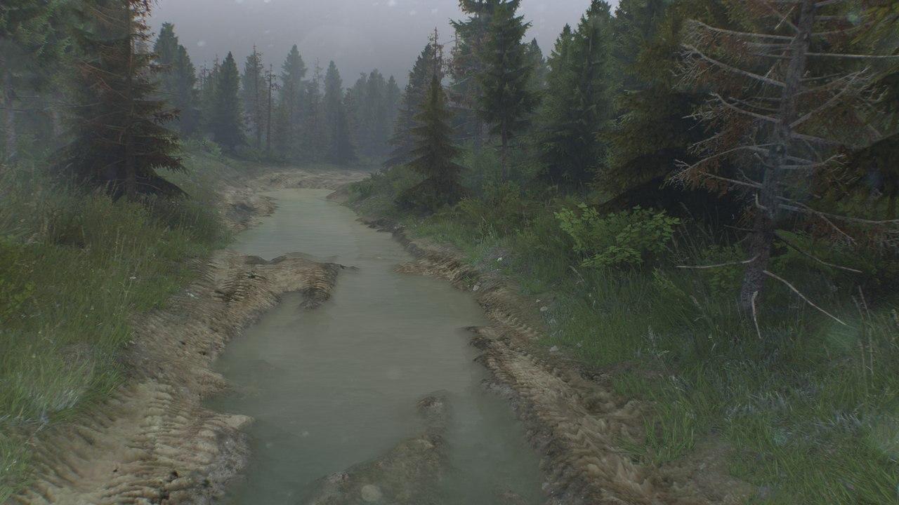 "Карта ""Level_Muddy-roads"" для 25.12.15 для Spintires - Скриншот 3"