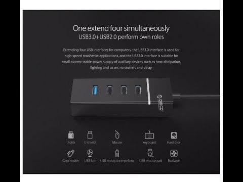 Портативный USB адаптер с Aliexpress