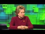 Матвиенко: США решают свои геополитические задачи, разыгрывая украинскую карту