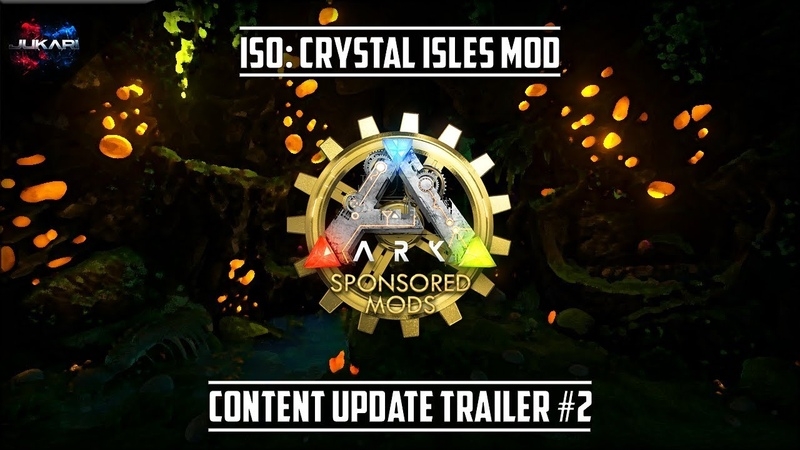 ARK: Survival Evolved | ISO: Crystal Isles Mod | Content Update Trailer 2