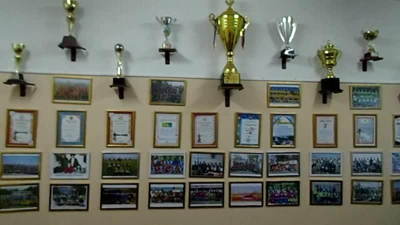 Мектептің спорт кабинеті-2018....
