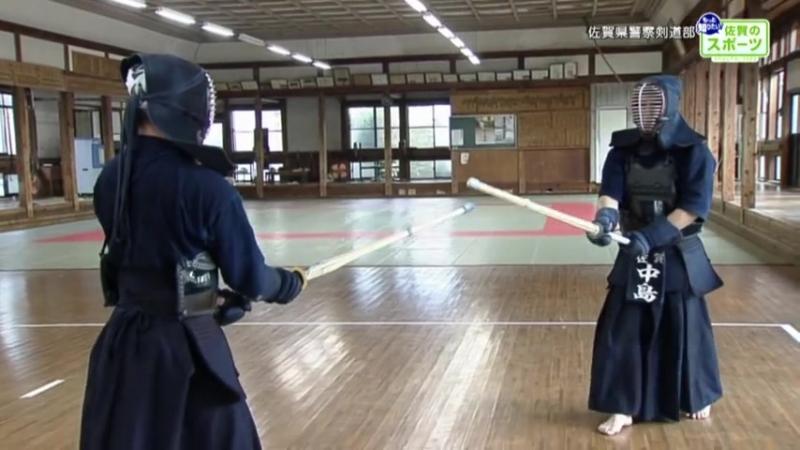 Kendo-Training 佐賀のスポーツvol9 佐賀県警察剣道部