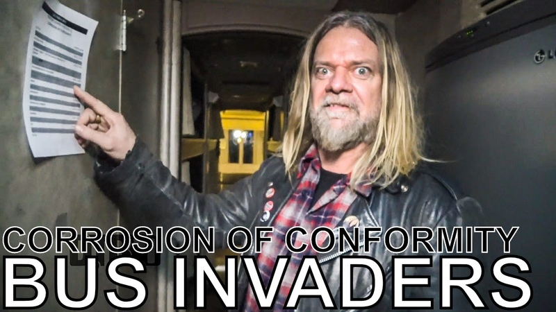 Corrosion of Conformity BUS INVADERS Ep 1426
