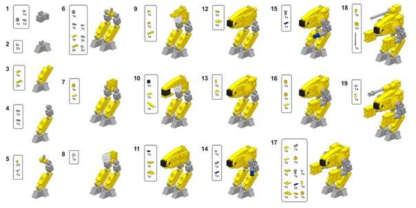 инструкция лего роботы самоделки