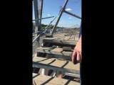 Все что осталось от пешеходного моста на Ярославке