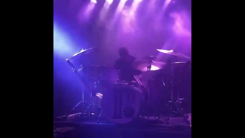 Justin Nace PVRIS drumming - Heaven live in LA, CA 12/04/2018