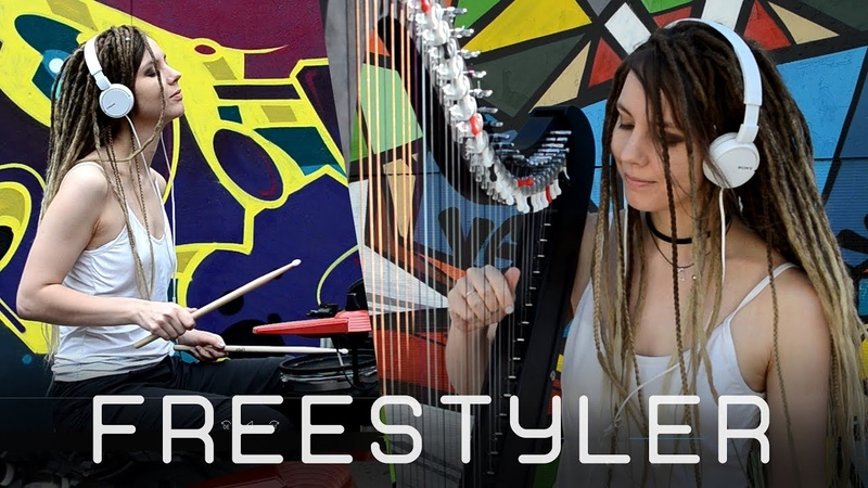 Freestyler (Bomfunk MC's) Drum and HARP Guitar COVER