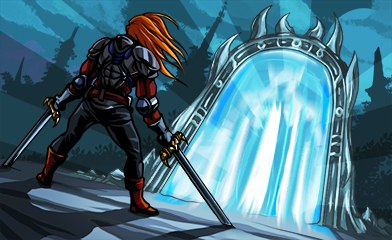 Описание игры: MORTAL PORTAL - это новая игра в стиле фентези. . Великолеп