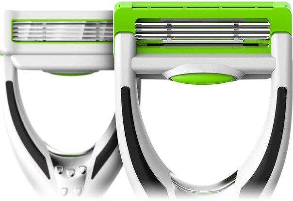 Штука: Бритвенный станок, для работы которого не нужна пена для бритья