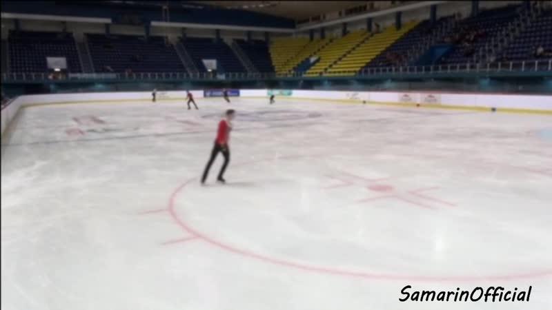 Golden Spin of Zagreb 2018. Разминка перед Произвольной программой.